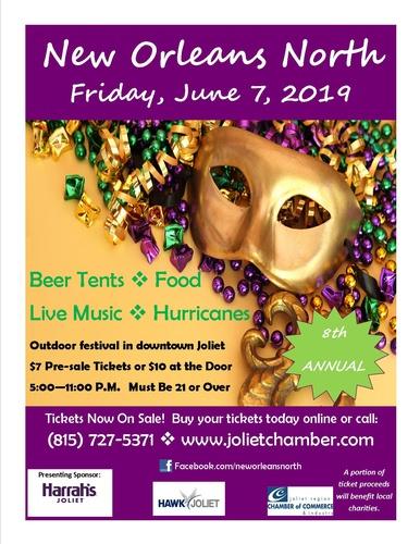 2019 New Orleans North Festival June 7th Jun 7 2019 Joliet