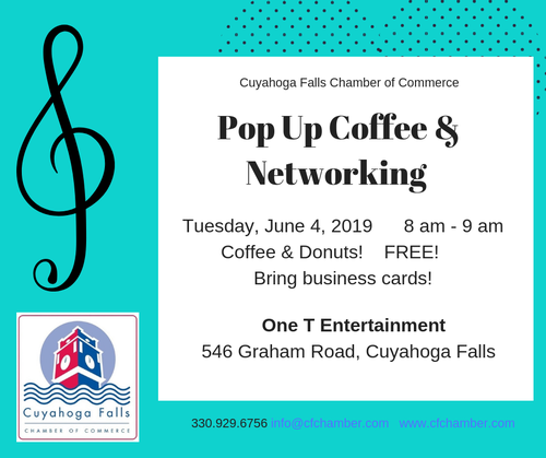 Pop Up Coffee & Networking