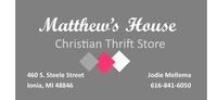 Matthew House Christian Thrift Store