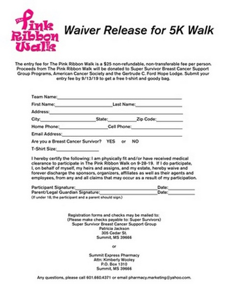 The Pink Ribbon Walk 2019 - Sep 28, 2019 - Pike County
