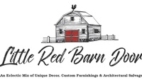 Little Red Barn Door
