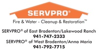 SERVPRO West and East Bradenton