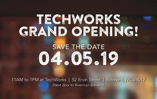 08a97ea525bd7 Ribbon Cutting  TechWorks of Gaston County - Apr 5