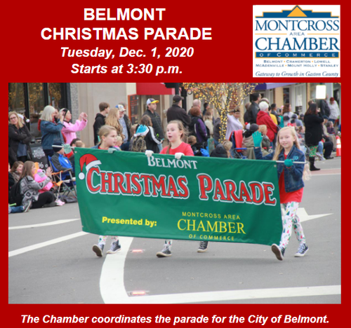 Belmont Christmas Parade 2020 The 71st Annual Belmont Christmas Parade   Dec 1, 2020