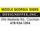 Middle Georgia Signs & Designeffex