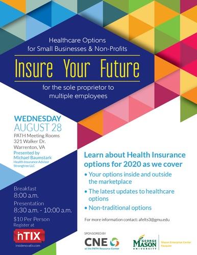 Gmu Fall 2020 Calendar Insure Your Future: Healthcare Options for Small Businesses & Non