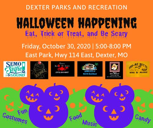 Dpr Halloween 2020 Halloween Happening   Oct 30, 2020