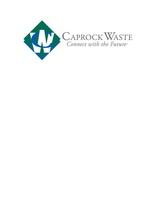 Caprock Waste