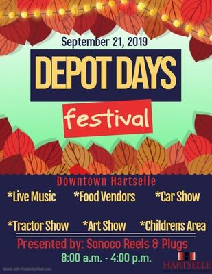 Depot Days @ Downtown Hartselle