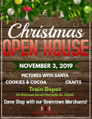 Christmas Open House.Christmas Open House Nov 3 2019 Hartselle Area Chamber