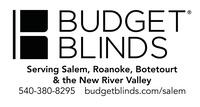 Budget Blinds Serving Salem, Roanoke, Botetourt & the NRV