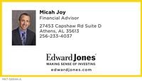 Edward Jones-Micah Joy
