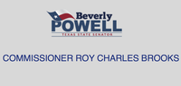 Senator Beverly Powell and Commissioner Roy Charles Brooks
