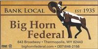 Big Horn Federal Savings Bank
