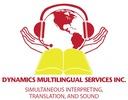 Dynamics Multilingual Services Inc