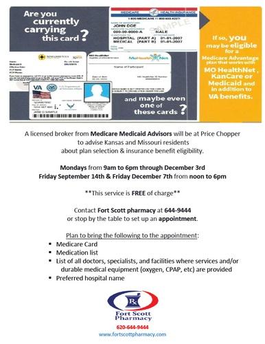Medicare Medicaid Advisors at Price Chopper-Fort Scott