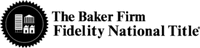 Fidelity National Title - The Baker Firm
