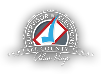 Lake County Supervisor of Elections- Alan Hays