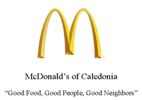 Caledonia McDonald's