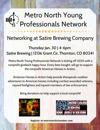 Metro North Young Professionals Network Nonprofit Giveback Jan