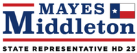 State Representative Mayes Middleton