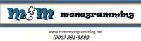 M & M Monogramming
