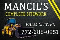 Mancil's Complete Sitework