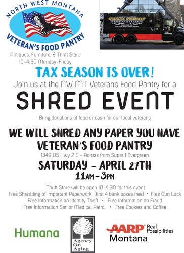 Shred Event - Apr 27, 2019 - Discover Kalispell