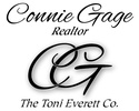 Connie Gage, Real Estate Associate- The Toni Everett Company