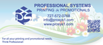 Professional Systems Printing and Promotions