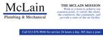 McLain Plumbing & Mechanical