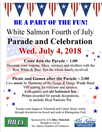4th Of July 2020 Events.4th Of July Parade 2020 Jul 4 2020 Mt Adams Chamber Of