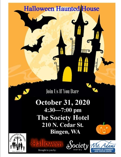 2020 Halloween Haunted Houses Haunted House   Halloween Trick or Treating   Oct 31, 2020   Mt