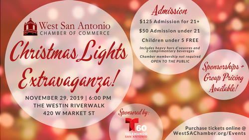 Christmas Activities San Antonio 2020 Christmas Lights Extravaganza 2020   Nov 27, 2020   West San