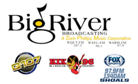 Big River Broadcasting; WQLT, KIX96 & Fox Sports Shoals