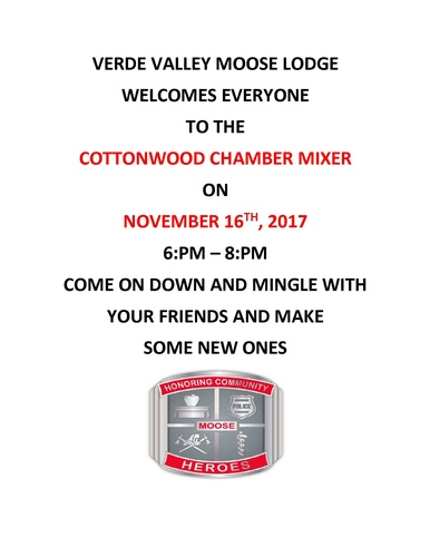 Moose Lodge Chamber Mixer