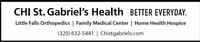 CHI St Gabriel's Health