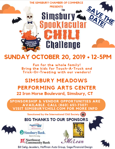 Simsbury Spooktacular Chili Challenge - Oct 20, 2019