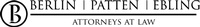 Berlin Patten Ebling, PLLC, Attorneys At Law