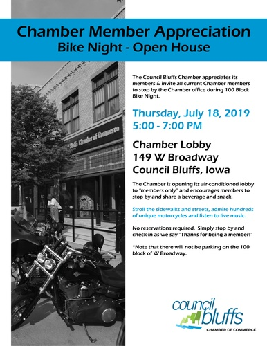 Chamber Member Appreciation - Bike Night/Open House