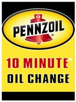 Pennzoil 10 Minute Oil Change