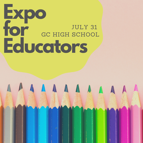 Expo for Educators - Jul 31, 2019 - #chamber_master_heading# — Giles