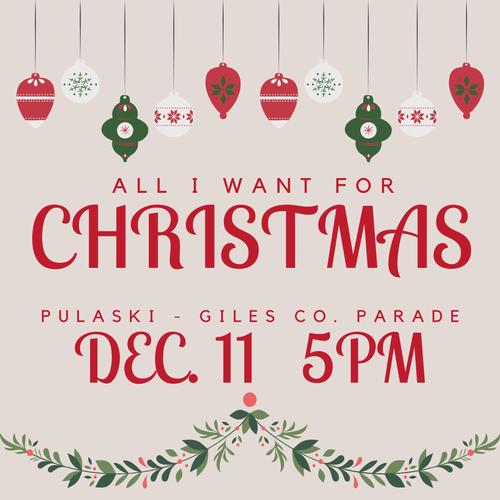 Pulaski Christmas Parade