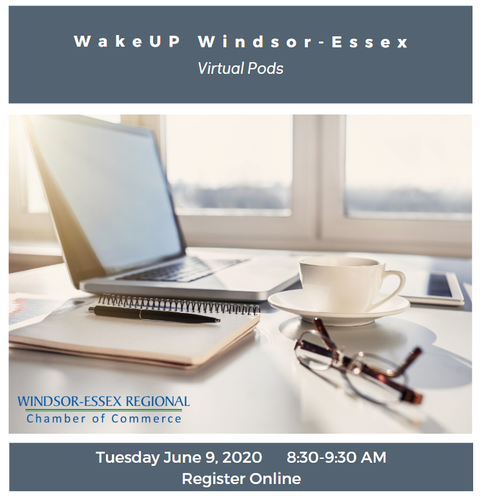 Virtual WakeUP Windsor-Essex, It's Time to Reconnect - June 9
