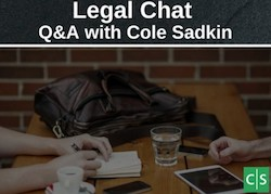 Legal Chat: Q & A with Cole Sadkin