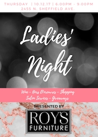 Ladies' Night at Roy's Furniture