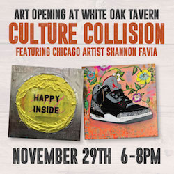 Culture Collision Art Opening at White Oak Tavern