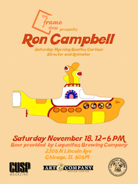 The Frame Shop Presents Ron Campbell