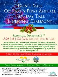 Tree Lighting at Oz Park