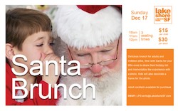 Santa Brunch at Lakeshore Sport & Fitness